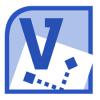Иконка программы Microsoft Visio 2010